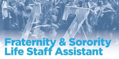 Fraternity & Sorority Life Staff Assistant job description stock photo